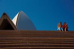 A seat at the opera (shanahands2) Tags: steps couple sydney