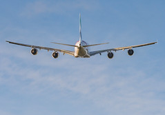 In the wake of the A380 (ukmjk) Tags: emirates a380 a388 manchester airport airbus nikon nikkor d500 200500 vr runway 2