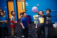 4759 Let's Go (mliu92) Tags: calcifer son belmont pumpitup birthday inflatable party nikkor 3514