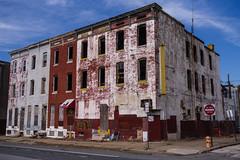 Abandoned Corner. Baltimore, Md. (Feb. 16, 2019) (Thomas Cluderay) Tags: baltimore baltimoremaryland maryland city photography saturday canon canon6d abandoned abandonedbuilding streetcorner blueskies
