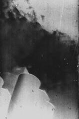 blot (BleakView) Tags: yashica fx3 bleakview bleak pictorialism film filmgrain grain blackandwhite factory industrial invert bw brisbane smog cloud fog scum analogue silo silhouette scratch paint polution postpunk apocalyptic postapocalyptic