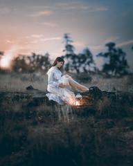New Beginnings Of A Weary Soul (Ryan Closson) Tags: adventure arizona beautiful butterflies dress girl hiking lantern life love magical model prescott pretty searching unitedstates usa vintage wonder woods young
