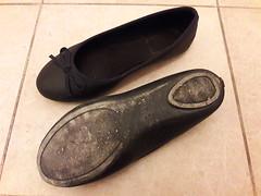Black ballet shoes sole (ninel1940) Tags: shoe shoes sole ballet balet ballerina ballerinas balerina
