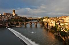 le Tarn à Albi (jean-marc losey) Tags: france occitanie tarn albi chute pont randonnée d700 ville cathédrale