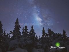 Cascade Mountain (john bulmer) Tags: cascade cascademountain adirondacks night snow winter johnbulmerphotography