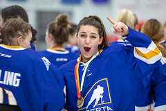 Jacquie Matechuk-20190302-hockey-Ladies-0134.jpg (Jacquie Matechuk - www.broughttolife.ca) Tags: medal athletes finals stick ladies gold canadagames championships puck cwg2019 alberta championshio arena womens quebec hockey ice 2019canadagames centrium championship icerink rink score skate sport team wintergames