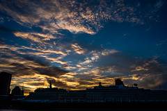 Sunset at Sydney Harbour (Thanathip Moolvong) Tags: sydney newsouthwales australia au