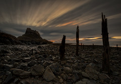 IF ANYONE NEEDS ME............. (lynneberry57) Tags: holyisland lindisfarne northumberland causeway lindisfarnecastle longexposure leefilters canon sky clouds movement silhouette sea seascape landscape rocks sunrise nature light water sun dark moody drama