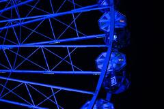 grande roue en bleu (matraffy) Tags: fairride granderoue