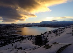 Afternoon walk (maybrittballo) Tags: komsa alta finmmark norhtofnorway norway nordnorge winter winterlight