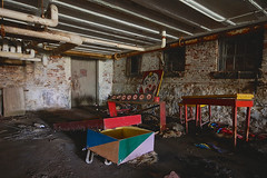 Clowning (jgurbisz) Tags: jgurbisz vacantnewjerseycom abandoned ma massachusetts clown westboroughstatehospital westborough decay asylum hospital exploration adventure