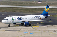 D-AICH Airbus A320-200 Condor Flugdienst Janosch DUS 2019-03-02 (27a) (Marvin Mutz) Tags: daich condor flugdienst airbus a320200 janosch special livery thomas cook dus eddl düsseldorf international nordrheinwestfalen germany aviation planespotting avgeek aircraft airplane aeroplane plane pilot cockpit crew passenger travel transport jet jetliner airline airliner wings engines airport runway taxiway apron clouds sky flight flying
