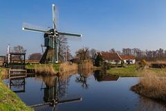 "Tienhoven - Mill ""De trouwe wachter"" (jan.vd.wolf) Tags: tienhoven utrecht nederland nl mill molen landschap landscape water building detrouwewachter"