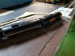 VIA 6507 (Trains By Perry) Tags: hoscale ho hotrak march2019 setup via viarailcanada