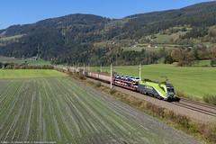 CAT-egoria sbagliata? (Damiano Piovanelli) Tags: treno treni ferrovie bahn österreich öbb obb 1016 1016014 trieben österreichische bundesbahnen güterzug