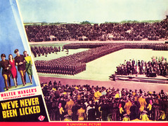 """Promotional materials for """"We've Never Been LIcked"""" 07.jpg (buddymedbery) Tags: years unitedstates worldwarii collegestation 1943 1940s texas"""
