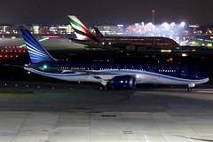 Azerbaijan Airlines | Boeing 787-8 | VP-BBR | London Heathrow (Dennis HKG) Tags: azerbaijan azerbaijanairlines ahy j2 aircraft airplane airport plane planespotting canon 7d 70200 london heathrow egll lhr boeing 787 7878 boeing787 boeing7878 dreamliner vpbbr