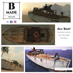 B-Made Old Boat (Ben Lev) Tags: advertise advertisement advertising board cloth commercial deals design discount dress endofseasonsale fashion fiftypercent graphic highstreet hotprice illustrated illustration instagramtemplate internet isolated layout marketing media message minimal mockup offer onlineshopping printed promotion psd sale set shop shopping socialmedia socialnetwork specialoffer style stylish template trendy website