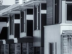 Urbanscape 5  # 41  ... (c)rebfoto (rebfoto...) Tags: cityscape urbanscape rebfoto monochrome houses architecture architecturalphotography