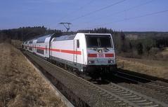 146 557  bei Eutingen  23.02.19 (w. + h. brutzer) Tags: eutingen 146 eisenbahn eisenbahnen train trains deutschland germany railway elok eloks lokomotive locomotive zug ic db webru analog nikon