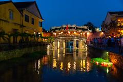 Japanese bridge in Hoi An, Vietnam (George Pachantouris) Tags: hoi an vietnam travel tourism vietnamese unesco world heritage paper lamps