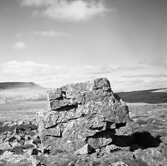 Pillar (Christopher M Hight) Tags: yashica tlr acros fujiacros100 120 breconbeacons