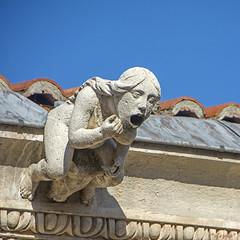 El grito 1 (*efejota*) Tags: piedra gárgola grito escultura