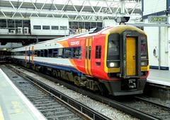 159020 (R~P~M) Tags: uk england unitedkingdom greatbritain train railway multipleunit diesel dmu 159 waterloo london stagecoach southwesttrains