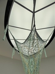 Chicago, Museum of Contemporary Art (MCA), Stairwell/Skylight with Woven Sculpture (Mary Warren 12.1+ Million Views) Tags: chicago museumofcontemporaryart architecture building stairwell skylight art sculpture