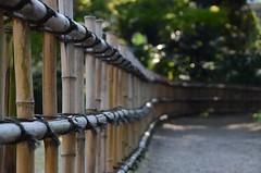 fence, Tokyo Metropolitan Teien Art Museum, Japan (Plan R) Tags: fence bamboo garden path teien nikon d7000