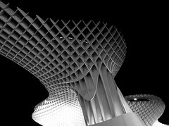 "Andalucia - Sevilla - Metropol Parasol (Bardazzi Luca) Tags: andalusia alandalus betica ""comunidad autónoma de andalucía"" europe city citta building architettura spagna spain espana particolare arquitectura architecture luca bardazzi desktop wallpapers image olympus em10 micro four thirds 43 foto flickr photo picture internet web design bw siviglia"