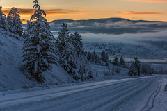 Merritt Sunset (edhendricks27) Tags: landscape sunset nature outdoors snow winter