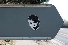 A1306 Arterial Road (Crusty Streets) Tags: sticker street art graffiti a1306 arterial road purfleet thurrock essex england uk