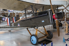 Royal Aircraft Factory S.E.5a - 02 (NickJ 1972) Tags: shuttleworth collection oldwarden race day airshow 2018 aviation royalaircraftfactory se5 se5a gerfc c1096 replica