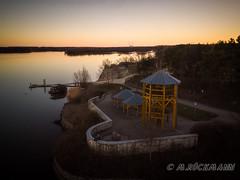 DJI_0542.jpg (marue2975) Tags: sonnenuntergang winter bauwerk 2019 landschaft gewässer