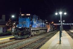 PN 8212 @ Lansdale, PA (Dan A. Davis) Tags: pn pennsylvanianortheastern c398 gp9rm gp30 w230 freighttrain train railroad locomotive lansdale willowgrove ambler pennsylvania pa