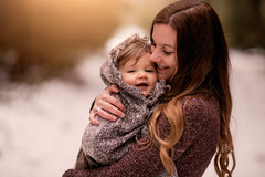 a Mothers Love (agirygula) Tags: emotion mother motherslove motherwithchild child childhood baby family photography session shooting 85mm canon winter snow cold smiling fun happy joy