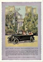 1919 Studebaker Big Six Seven-Passenger Touring (aldenjewell) Tags: 1919 studebaker big six seven passenger touring ad