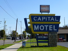 Columbus, OH Capital Motel sign (army.arch) Tags: columbus ohio oh neon sign motel