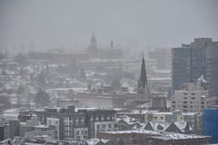 Seattle Snowmageddon 2019 4 (C.M. Keiner) Tags: seattle washington usa city cityscape skyline mountains pacific northwest puget sound snow blizzard winter storm urban