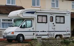 M410 KFJ (Nivek.Old.Gold) Tags: 1995 ford transit 150 td lwb herald templar hallmark camper 2496cc