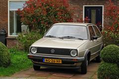 1985 Volkswagen Golf 1.3 CL (rvandermaar) Tags: 1985 volkswagen golf 13 cl volkswagengolf vwgolf volkswagengolfii vwgolfii golfii vw sidecode4 ng26hf