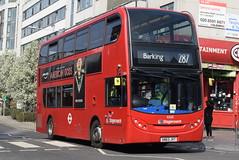 SL 10168 @ Station Parade, Barking (ianjpoole) Tags: stagecoach london alexander dennis enviro 400 sn63jvt 10168 working route 287 abbey wood lane rainham barking train station