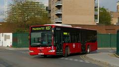 Round The Bend To Finish (londonbusexplorer) Tags: london united ratp group mercedes benz o530 citaro mcl30304 bd11lwr h37 hounslow blenheim centre richmond manor circus tfl buses