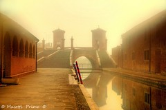 Comacchio ( Ferrara  Italy )_2496_  dvd 22 (masotti primo) Tags: comacchio ferrara mareadriatico adriaticsea masottiprimo fog nebbia
