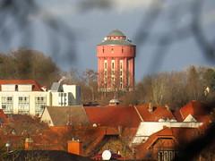 Wasserturm und Krankenhaus Arnstadt (germancute) Tags: arnstadt thuringia thüringen town stadt turm tower
