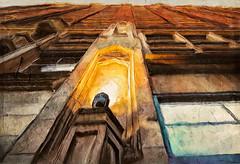 Verticals (Terry Pellmar) Tags: texture digitalart digitalpainting ddg rochesterny jazzweek building windows brick