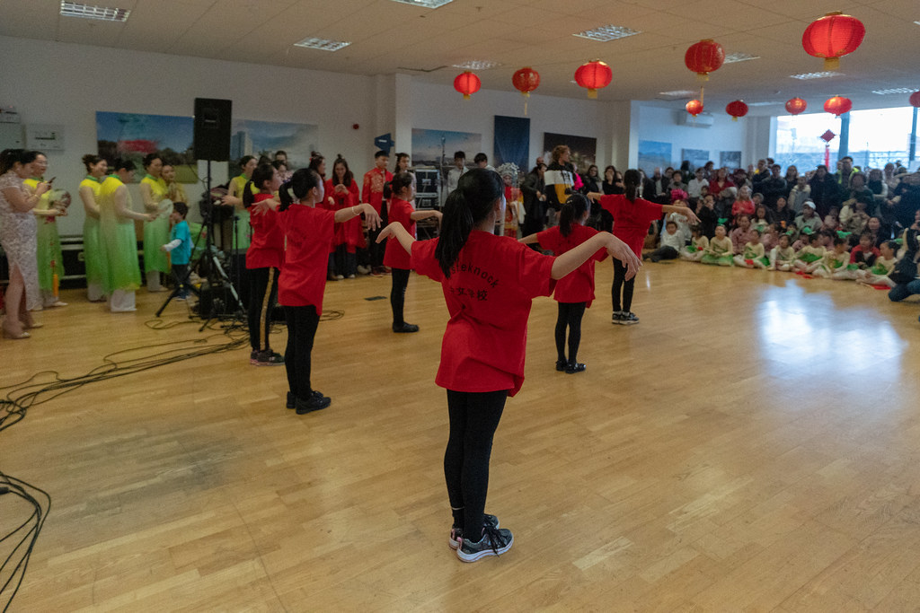 YEAR OF THE PIG - LUNAR NEW YEAR CELEBRATION AT THE CHQ IN DUBLIN [OFTEN REFERRED TO AS CHINESE NEW YEAR]-148944