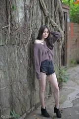 何佳欣 (玩家) Tags: 2019 台灣 台北 士林官邸 人像 外拍 正妹 模特兒 何佳欣 戶外 定焦 無後製 無修圖 taiwan taipei portrait glamour model girl female outdoor d610 85mm prime