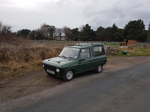 Reliant Fox Custom Van